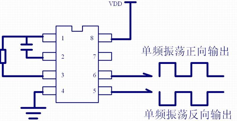 方波振荡电路设计